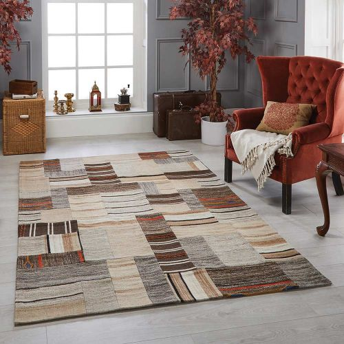 Navajo Natural Wool Handmade Rug