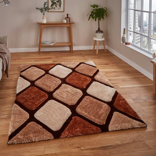 Noble House Rug 9247 Beige Brown