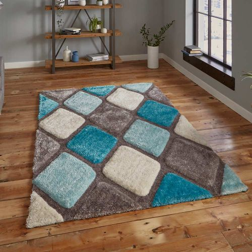 Noble House 9247 Blue Grey Rug