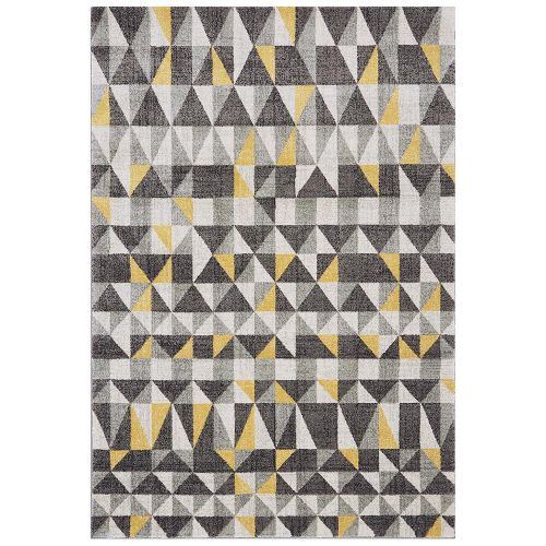 Nova Rug NV01 Flag Yellow Grey