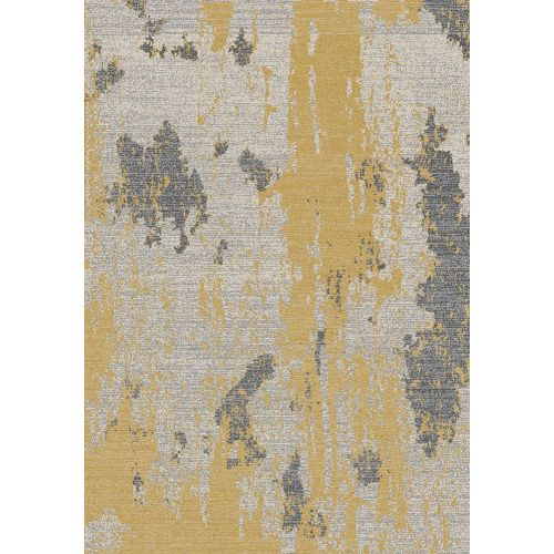 Nova Rug NV18 Painterly Ochre Yellow