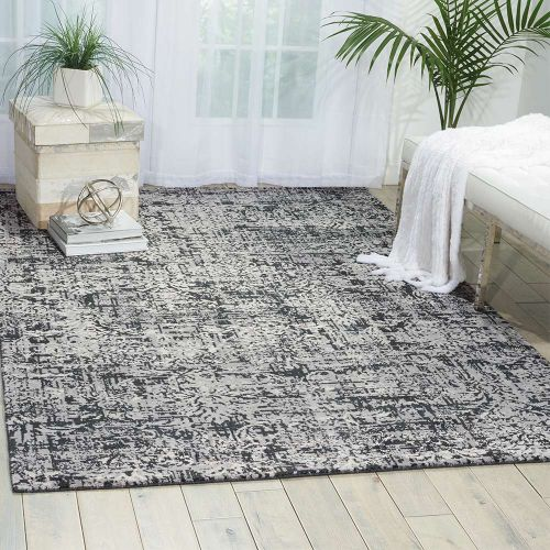 Onyx Twilight Rug Faded Foliate TWI04