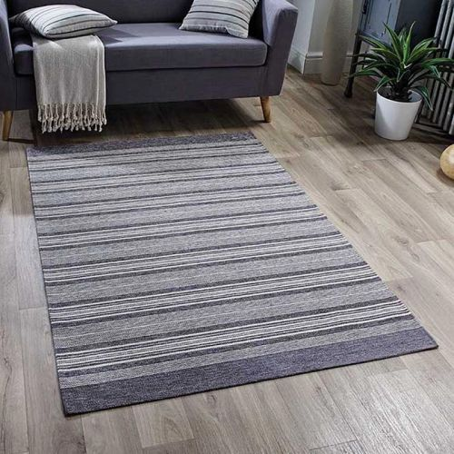 Pacific 126X Rug Grey Stripes