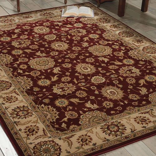 Persian Crown Traditional Rug PC002 Red