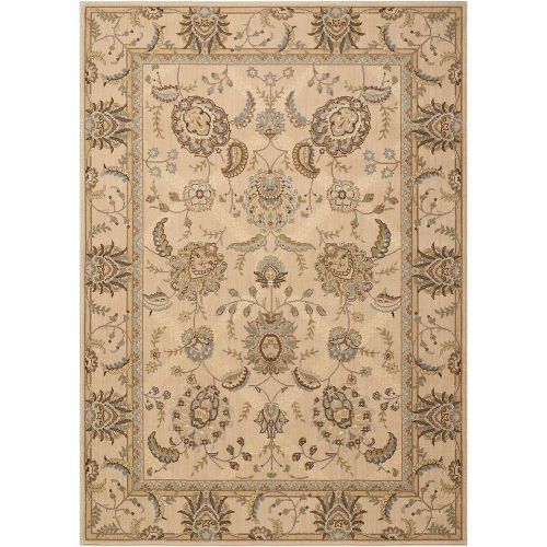 Persian Empire Wool Rug PE22 Ivory