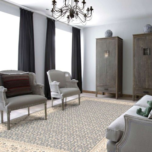 Persian Empire Wool Rug PE26 Silver