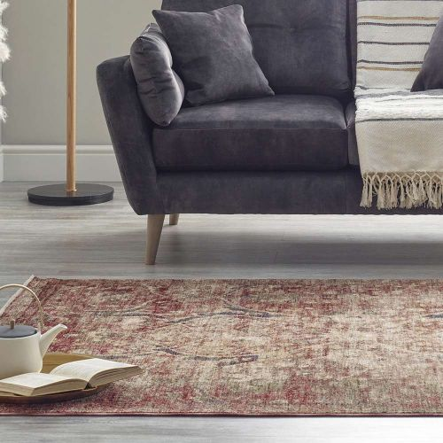 Persian Rug Sulina Red Blue 6645C