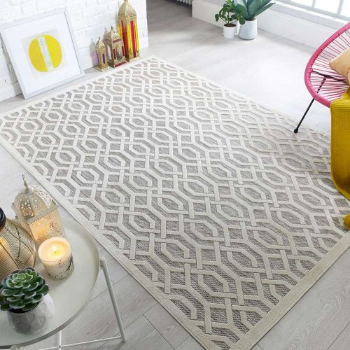 Outdoor Piatto Mondo Natural Rug