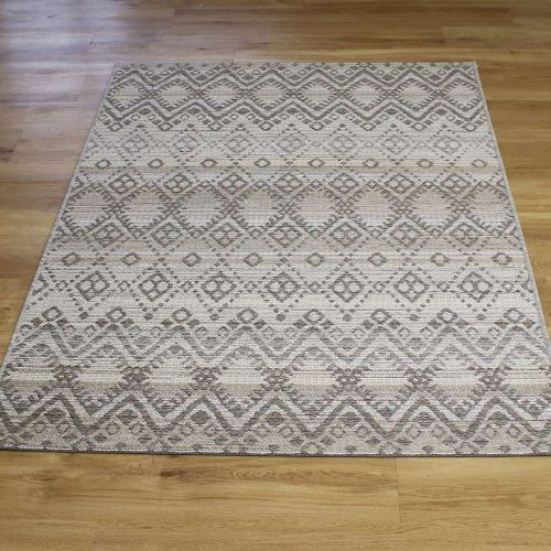Vandar Grey Brighton Geometric Rug 98004-3045