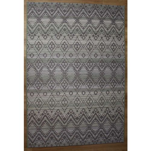 Vandar Green Brighton Geometric Rug 98004-4019