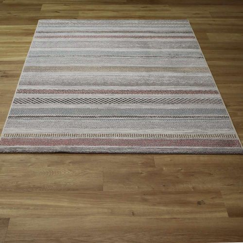 Multi Coloured Nomad Rug 26003 6464