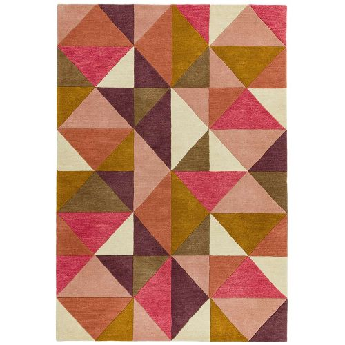 Reef Rug RF09 Kite Pink Multi Wool