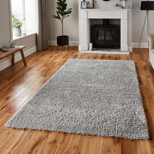 Repreve Recycled Rug Shaggy Grey