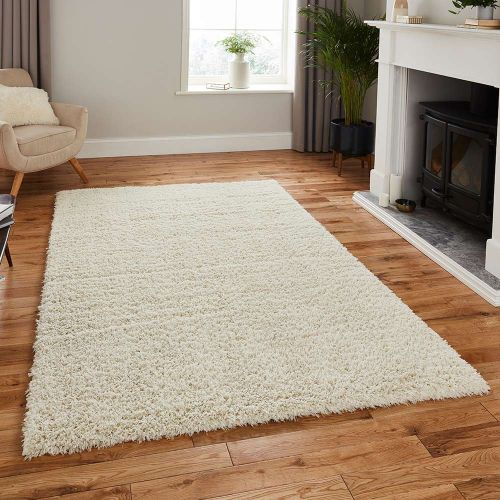 Repreve Recycled Rug Shaggy Ivory