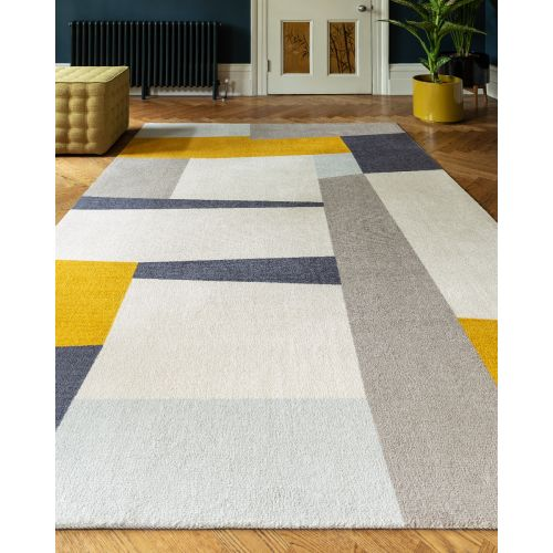 Riley Rug RL04 in Yellow