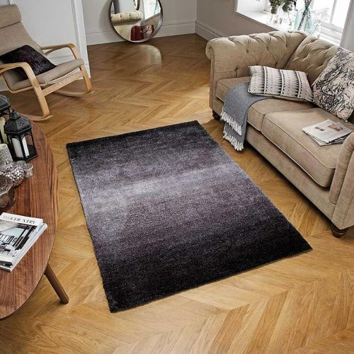Rio Charcoal Steel Grey Rug