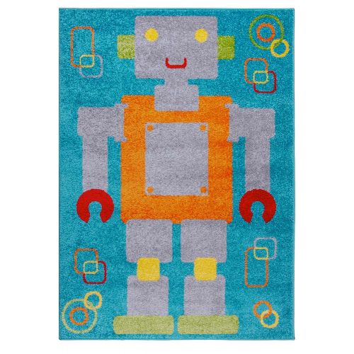 Childrens Robot Rug