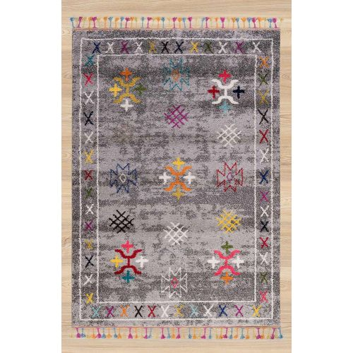 Royal Marrakech Rug Morocco Grey 3652A