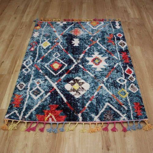 Royal Marrakech Rug Turquoise Blue 2267A