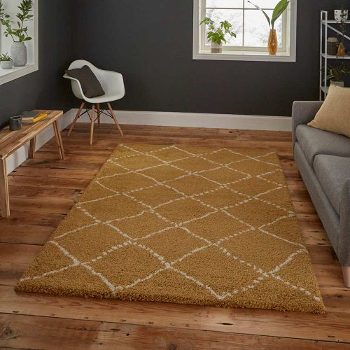 Royal Nomadic Rug 5413 Yellow shaggy