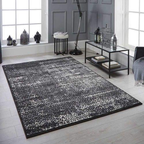 Sansa 1803 K Rug Contemporary Charcoal