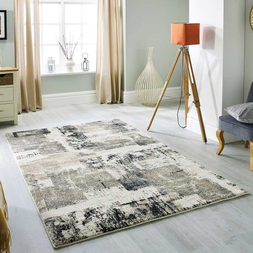 Sansa 5501 H Rug Contemporary Cream/ Grey