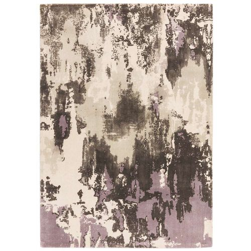 Saturn Rug Heather Woolen Print