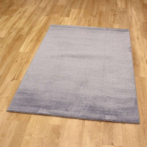 Shiny Pale Blue Rug Skald 49001 8282