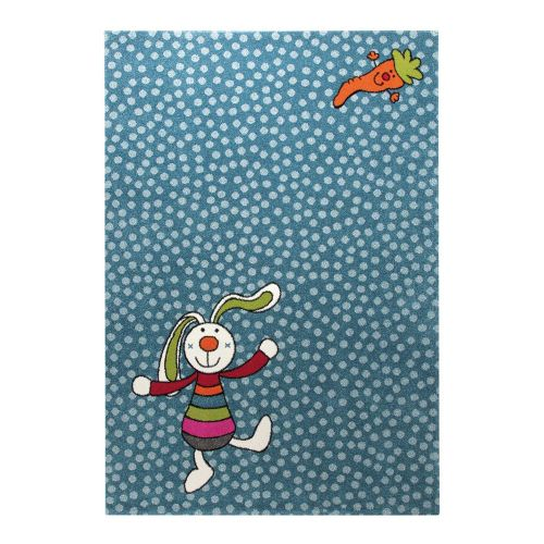 SIGIKID Rainbow Rabbit Blue Rug