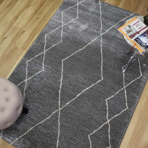 Skald Rug Pewter Chalk 49007 4262