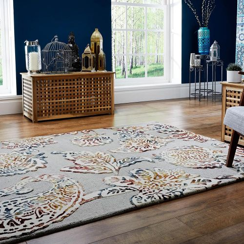 Soho Sirius Rug Grey Multicolour