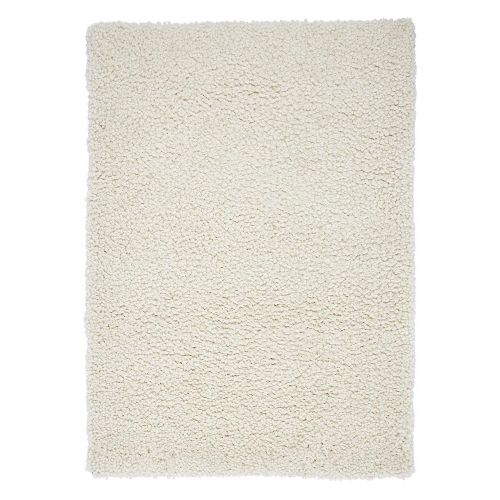 Spiral Rug Shaggy Cream