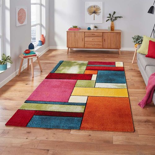 Sunrise 21821 Multi Coloured Rug