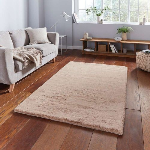 Teddy Soft Shaggy Mink Rug