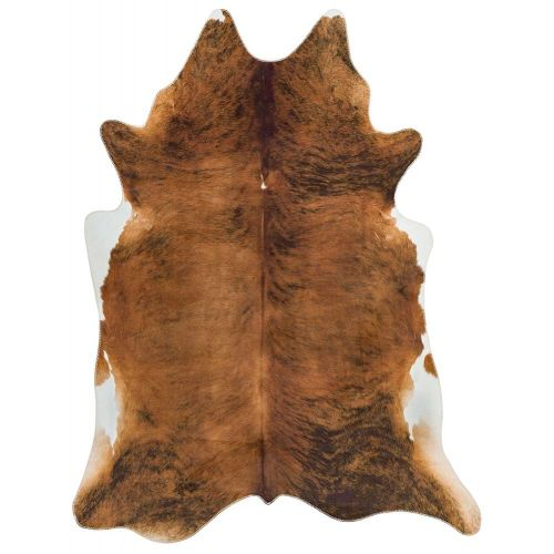 Texas Faux Cowhide Rug Chestnut