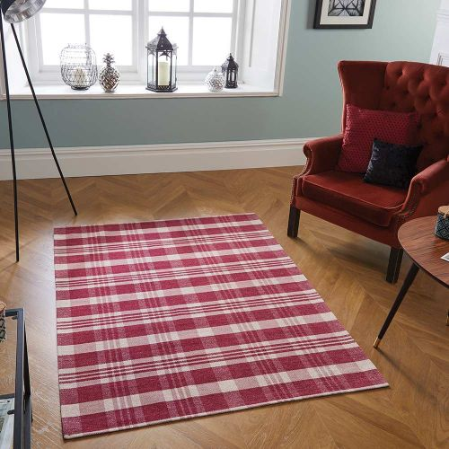 Thin Cottage Strawberry Rug 21S 55x85