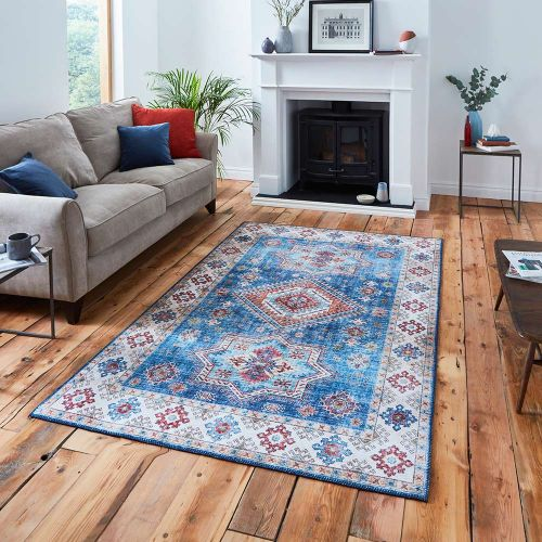 Topaz G4705 Traditional Blue Rug