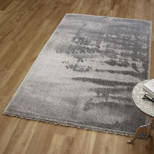 Topaz Rug White Charcoal