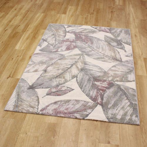 Trendy Rug Pale Leaf Style Galleria 689 3747