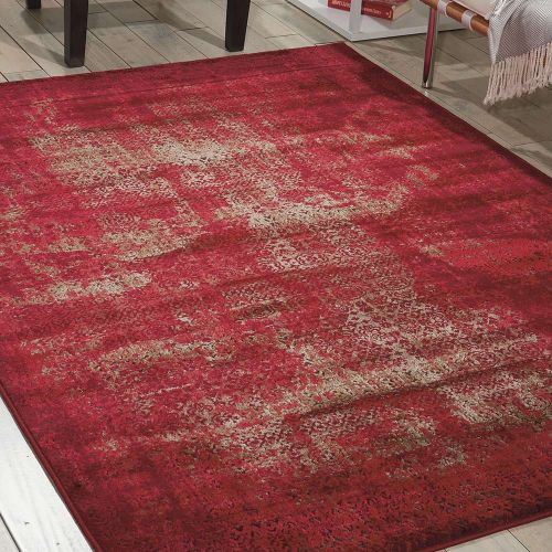 Tribal Rug Karma Red KRM01