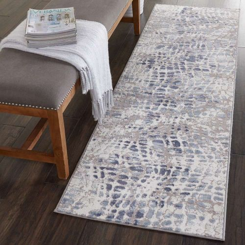 Abstract Urban Décor URD04 Ivory Grey Rug