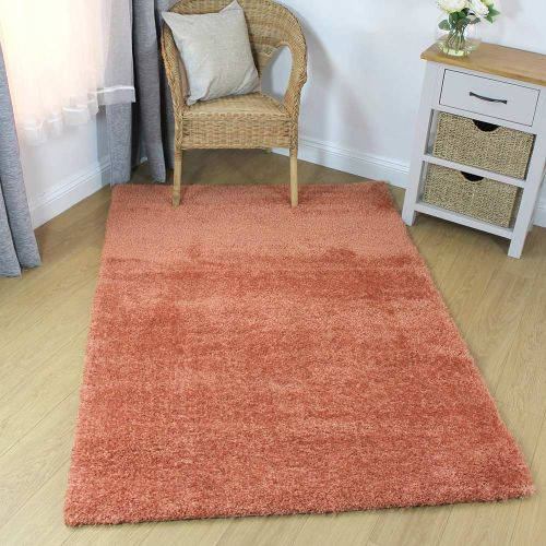 On Sale Velvet Small Rug Peach 80X150cm