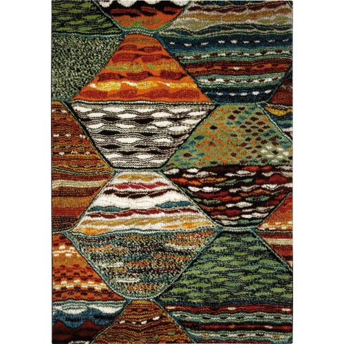 WECON Home Atlas Multicolour Rug
