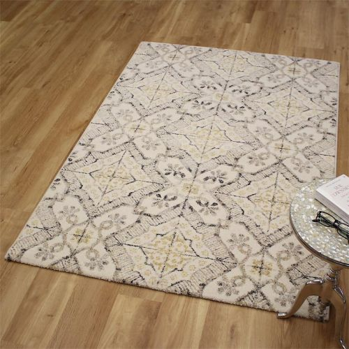 Woodstock Rug 6394 Bone Yellow