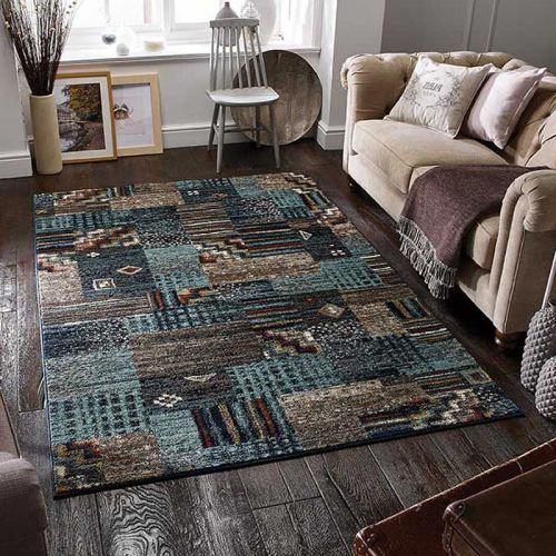 Zarah 190B Rug Abstract Blue