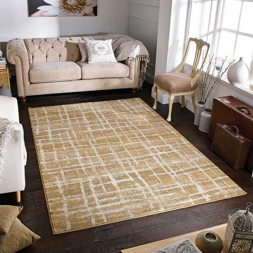 Zarah 1J Rug Abstract Gold