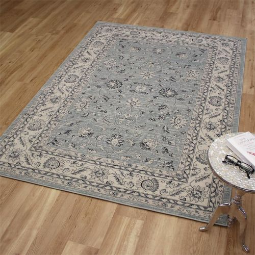 Ziegler Rug 7709 Blue Cream