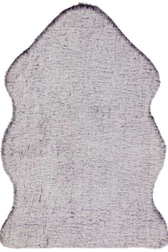 Willow faux Fur Brown tipped Rug