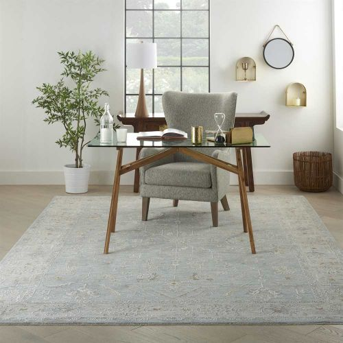 Blue Traditional Rug Infinite IFT05