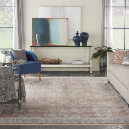 Blush Traditional Rug Starry Nights STN12